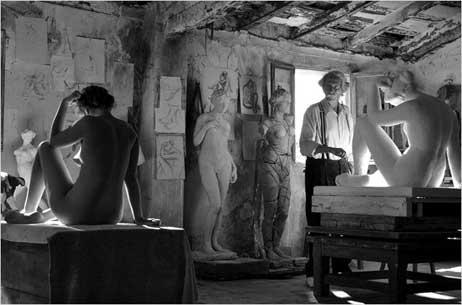 Fernando Trueba's L'Artiste et son Modèle