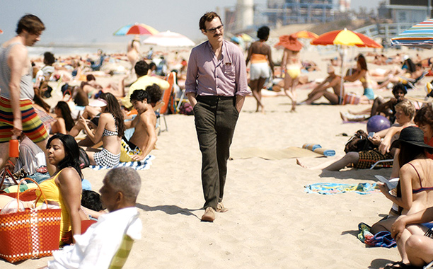 Her Joaquin Phoenix on beach