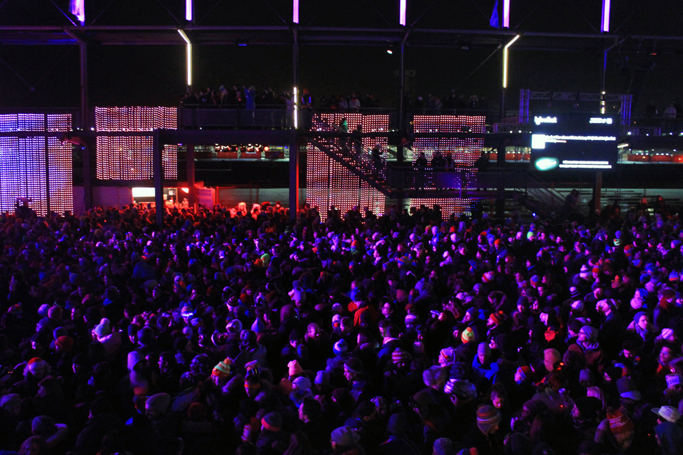 Igloofest January 31 2014. Photo Lili Hudecova.