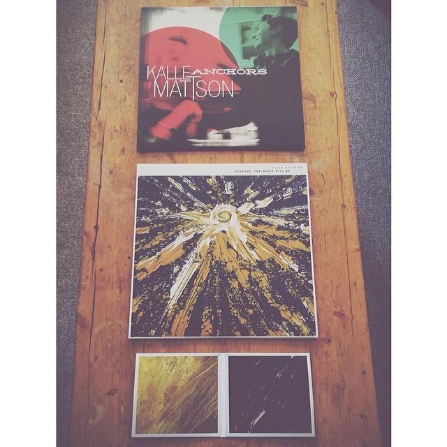 Kalle Mattson album -- his mom's artwork and image