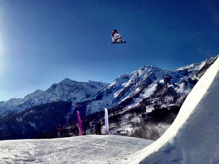 Max Parrot in Sochi.
