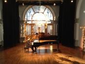 David Jalbert performs Goldberg Variations in Chapelle Historique Bonpasteur. Photo Nigel DeSouza