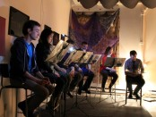 New Playwrights Reading Series. Studio Porte Bleu. Photo Colin Lalonde.