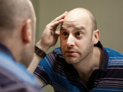 Jeff Grandell in The Balding. Photo by Kiran Ambwani