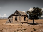 King Ludd Cabin in Desert