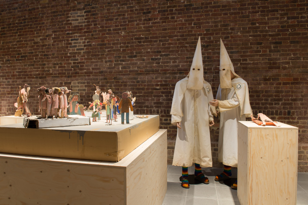 Jake and Dinos Chapman Installation view, Come and See Serpentine Sackler Gallery, London (29 November 2013 - 9 February 2014) photography © Hugo Glendinning Courtesy of the artists and White Cube