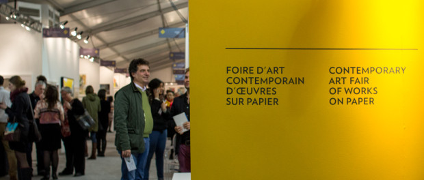 Papier14 Art Fair Main Entrance