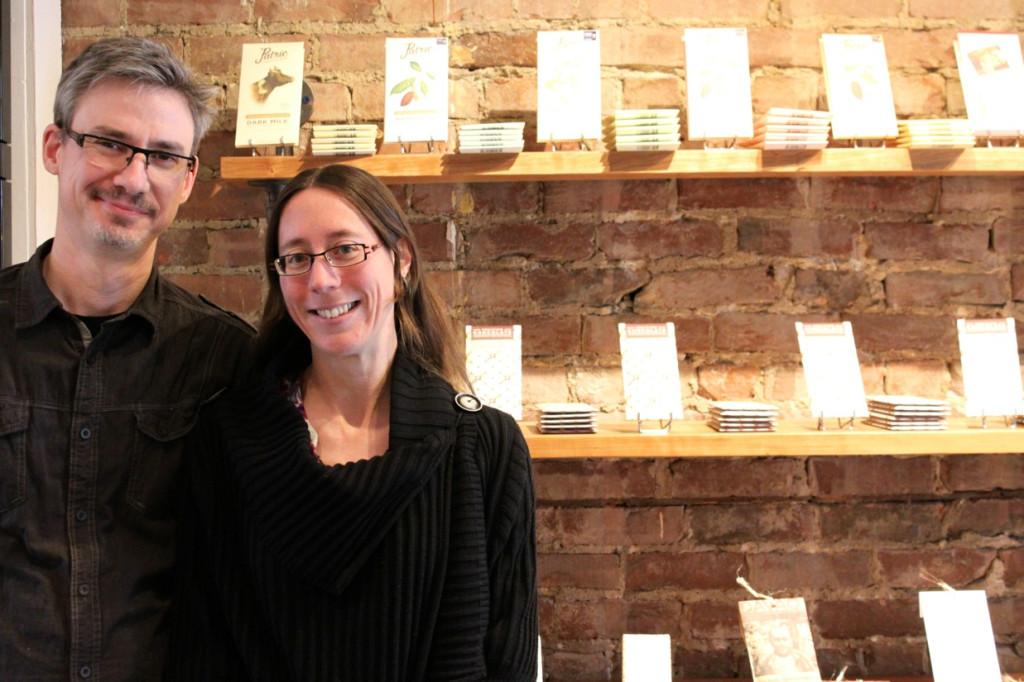 Karine Guillemette and Jaques Dussault. Photo Annie Shreeve.