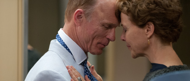 Anette Bening and Ed Harris. The Face of Love.