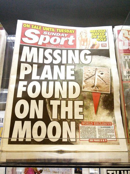 Tabloid needs a serious clue
