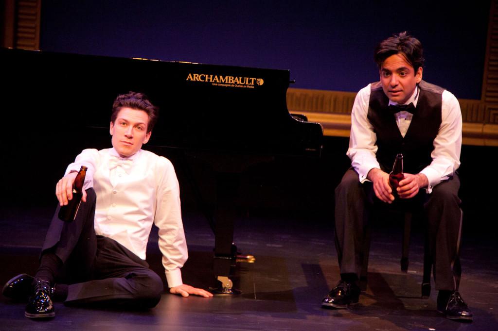 2 pianos 4hands. Reza Jacobs, Bryce Kulak. Photo ©lucetg.com