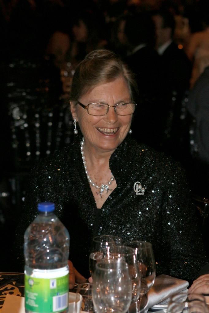 Guest of Honor Constance V. Pathy. Photo Fernando Landin