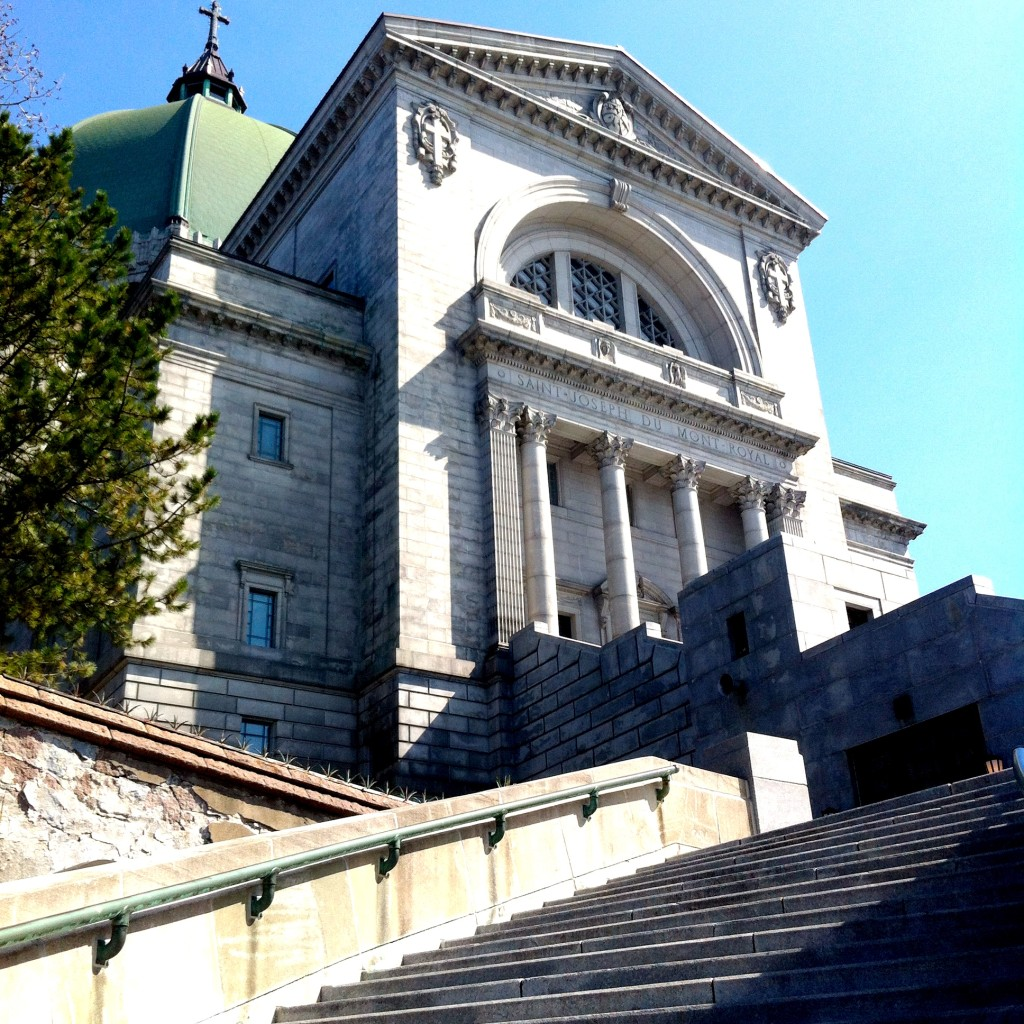 St. Joseph's Oratory. Photo Kim Hachey.