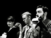 Trampoline Cast with Shane Adamczak, Stevie Pemberton and Vance Gillis. Photo Michael Bakouch