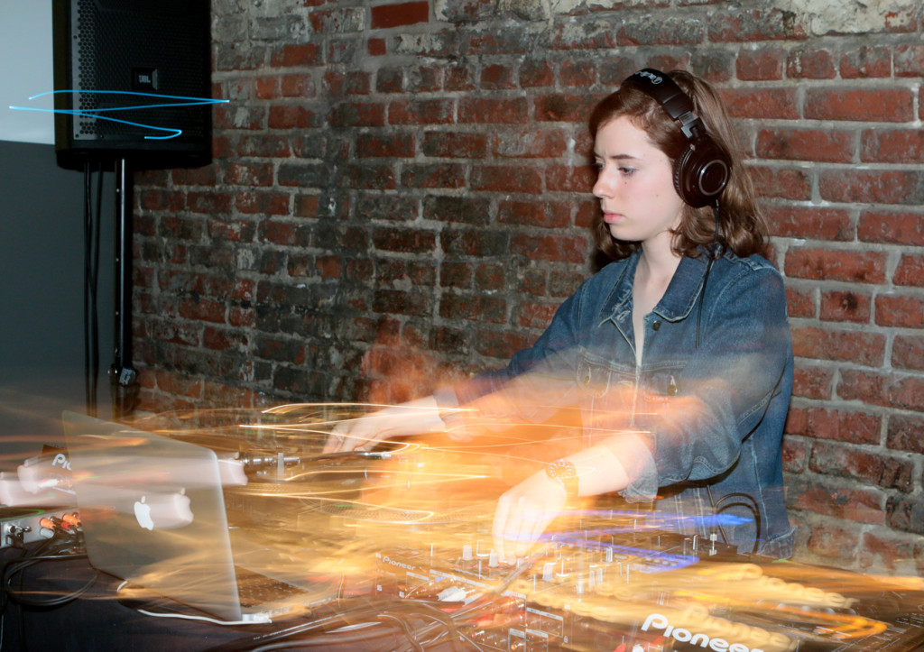 DJ Maus. Darling Foundry Fundraiser. Photo Fernando Landin