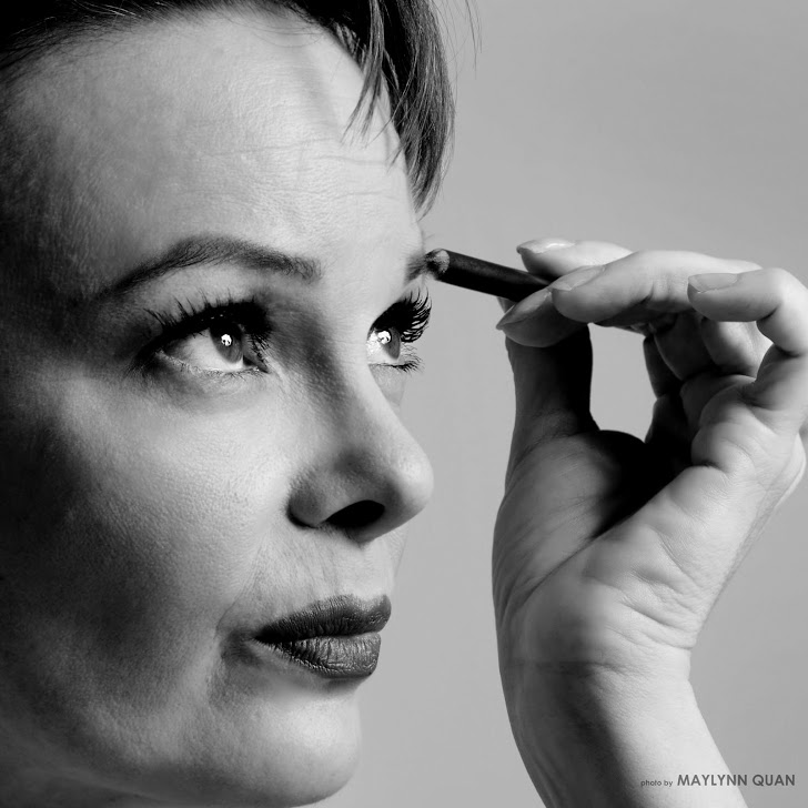 Kim Roberts as Judy Garland close up. Photo Maylynn Quan