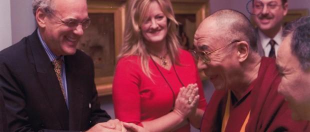 Shep Gordon and Dali Lama