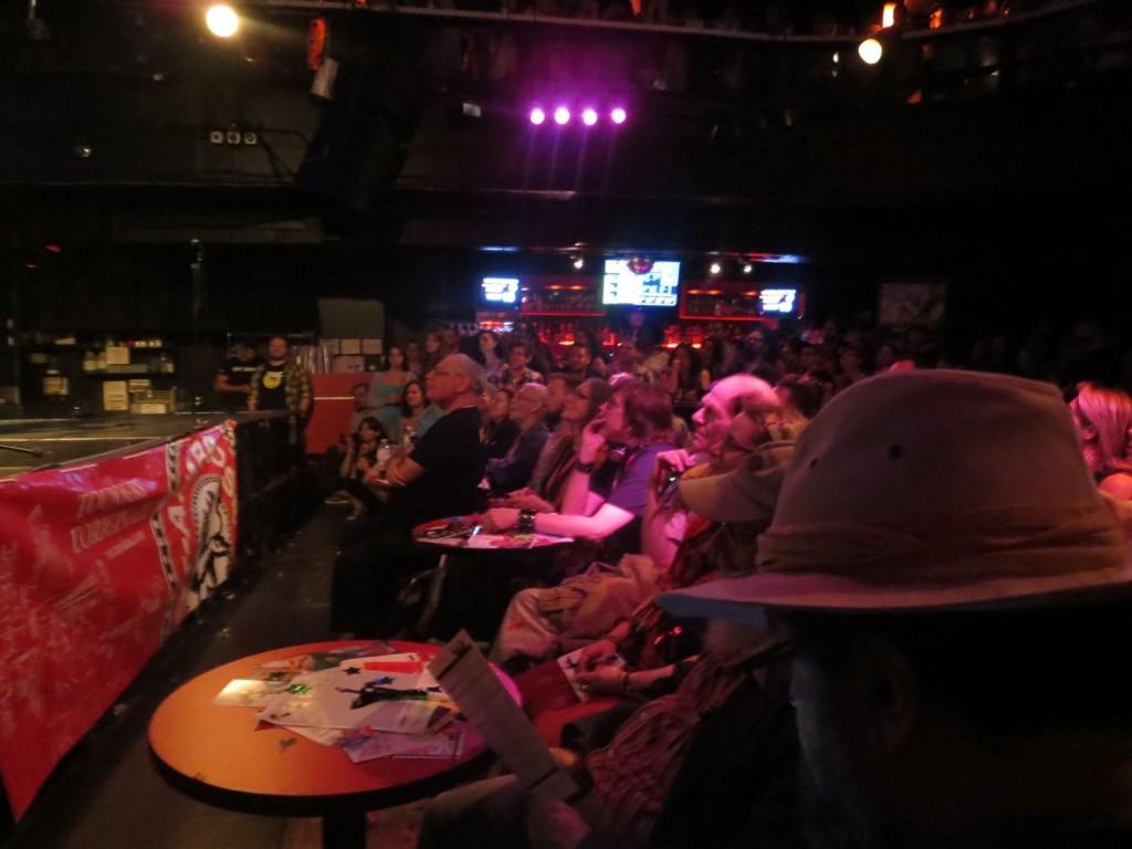 Montreal Fringe Festival Launch. Amuse me. Critics. Photo Rachel Levine