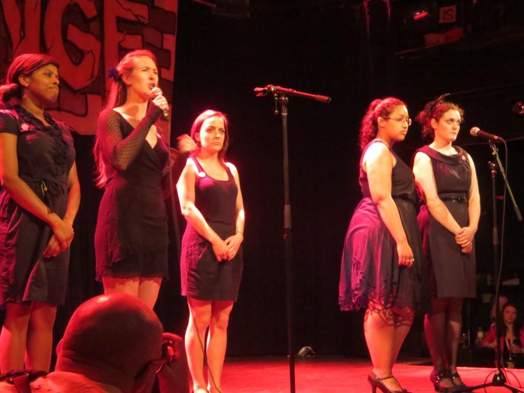 Montreal Fringe Festival Launch. In Memoriam. Photo Rachel Levine.