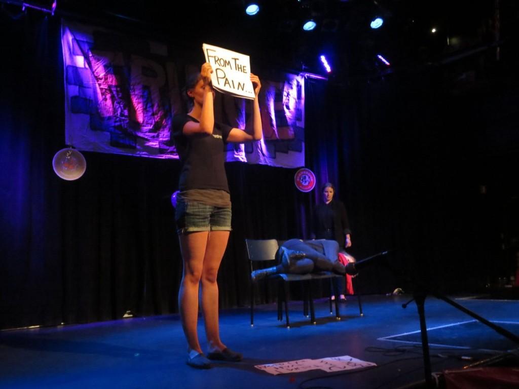 Montreal Fringe Festival Launch. Lotus. Photo Rachel Levine