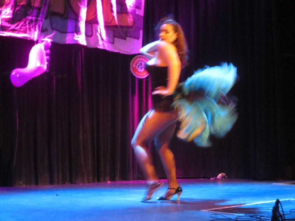 Montreal Fringe Festival Launch. 25: The Forbidden Paradise. Photo Rachel LEvine.