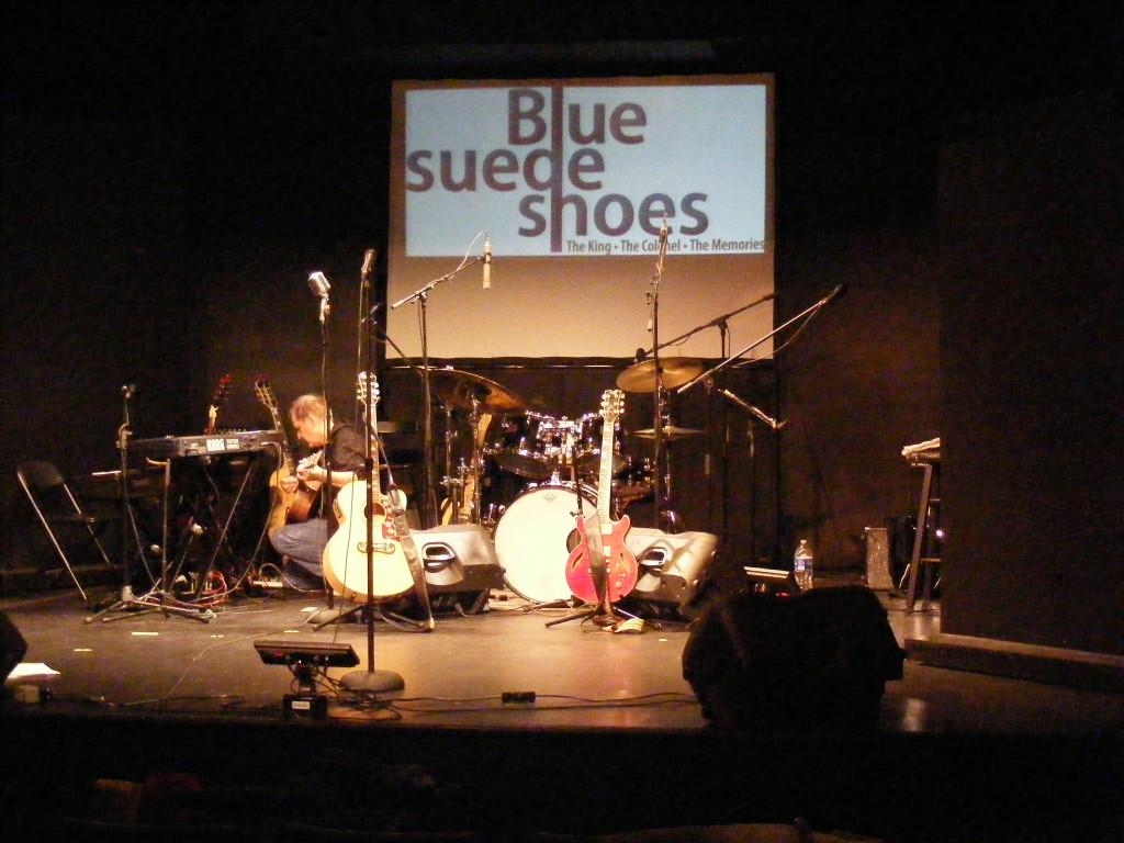 Blue Suede Shoes. Hudson. Photo Ken Gaucher.