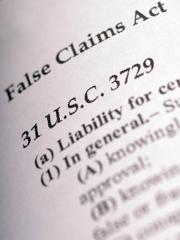 Fraud. false claims act