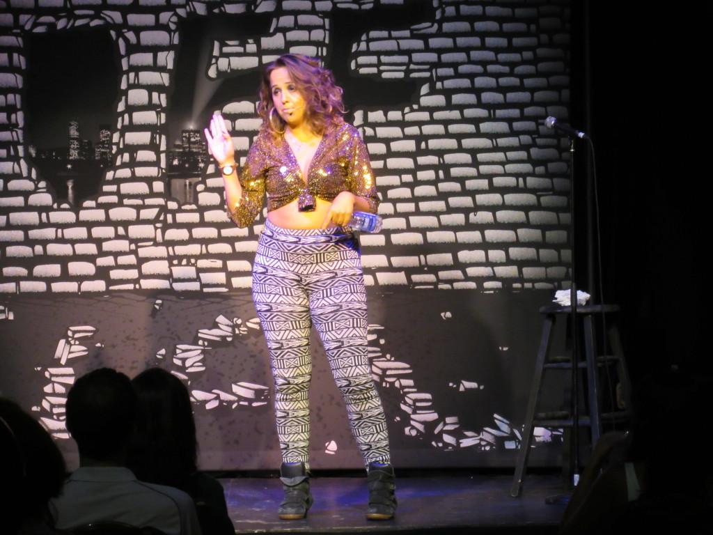 Luisa Omielan at Theatre Ste. Catherine. Photo by Robyn Homeniuk.
