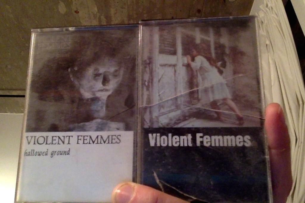Violent Femmes tapes.