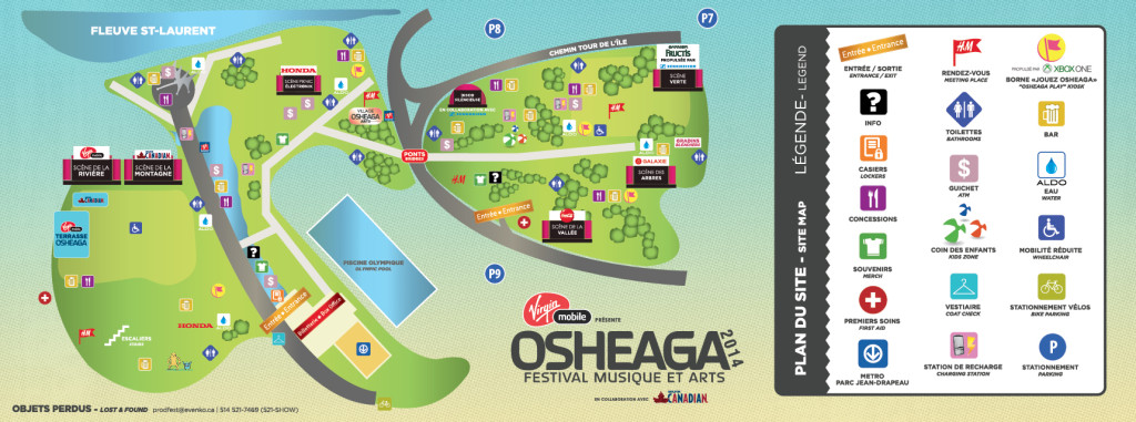 osheaga map 2014