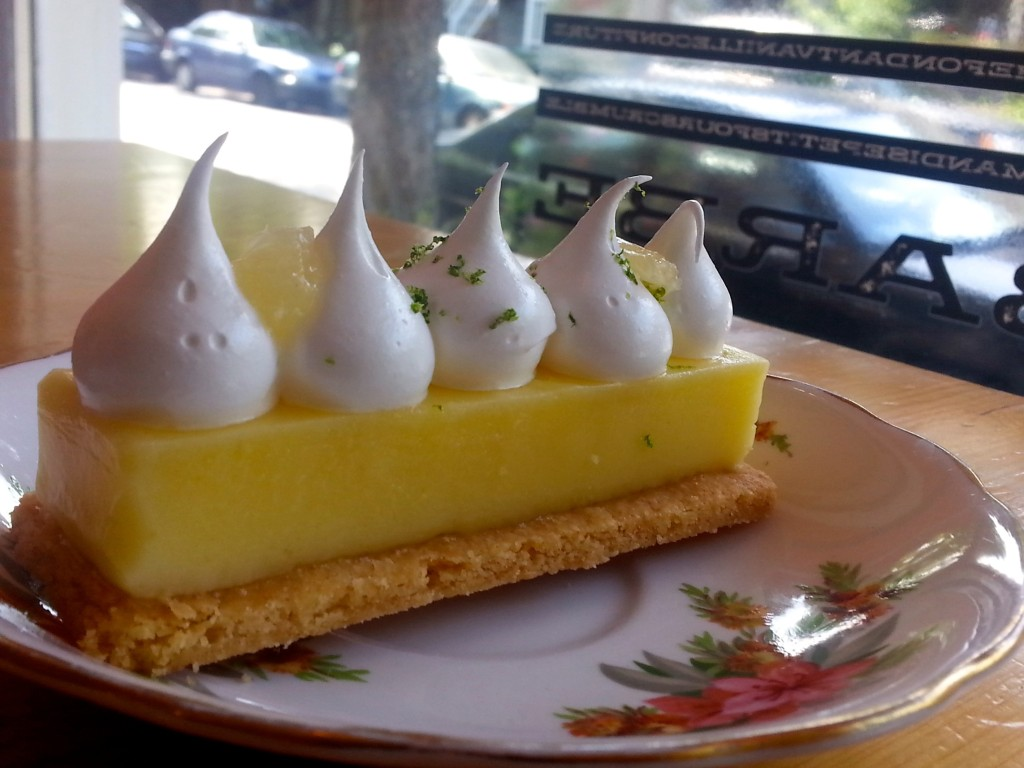 Tarte Citron. Photo by Annie Shreeve