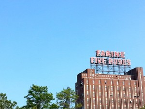 Farine Five Roses sign. Photo by Annie Shreeve