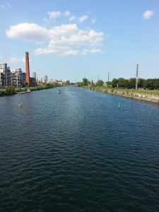 The Lachine Canal. Photo by Annie Shreeve
