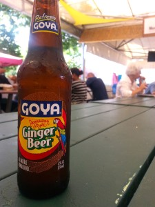 Goya Ginger Beer. Photo by Annie Shreeve