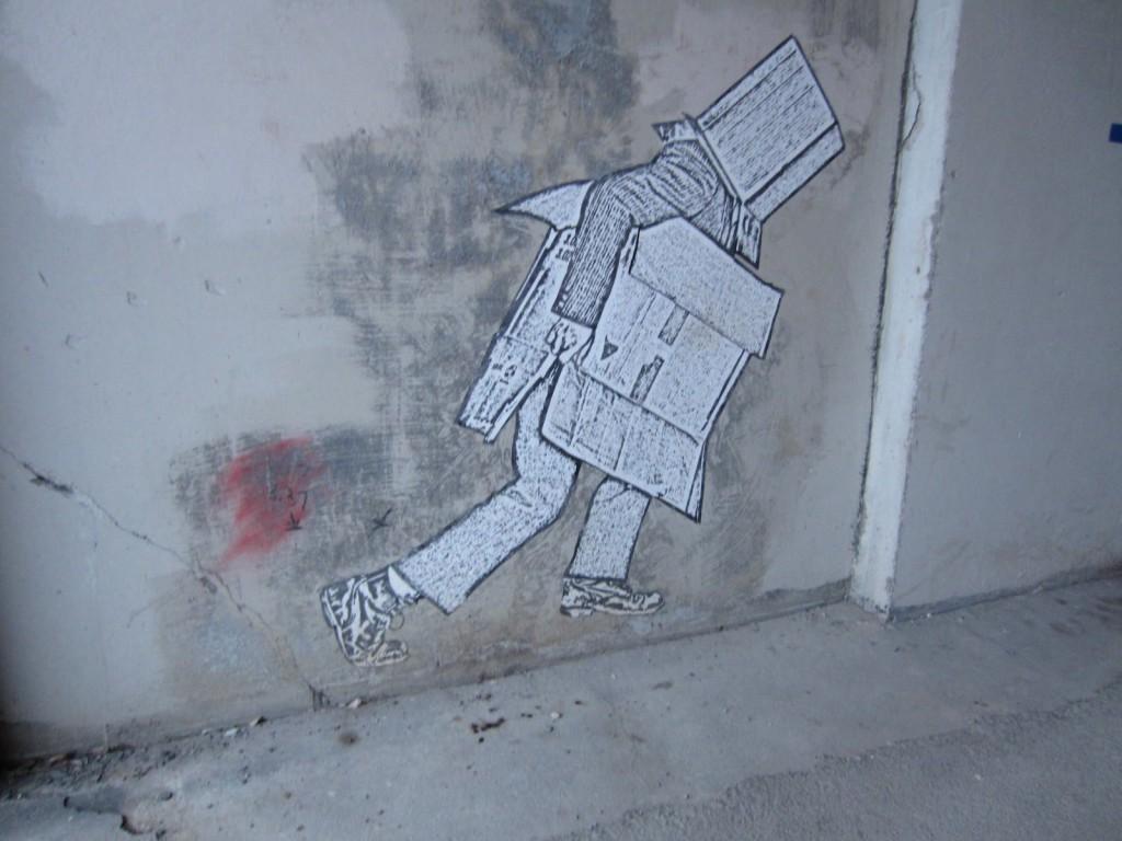 Graffiti. Photo Rachel Levine