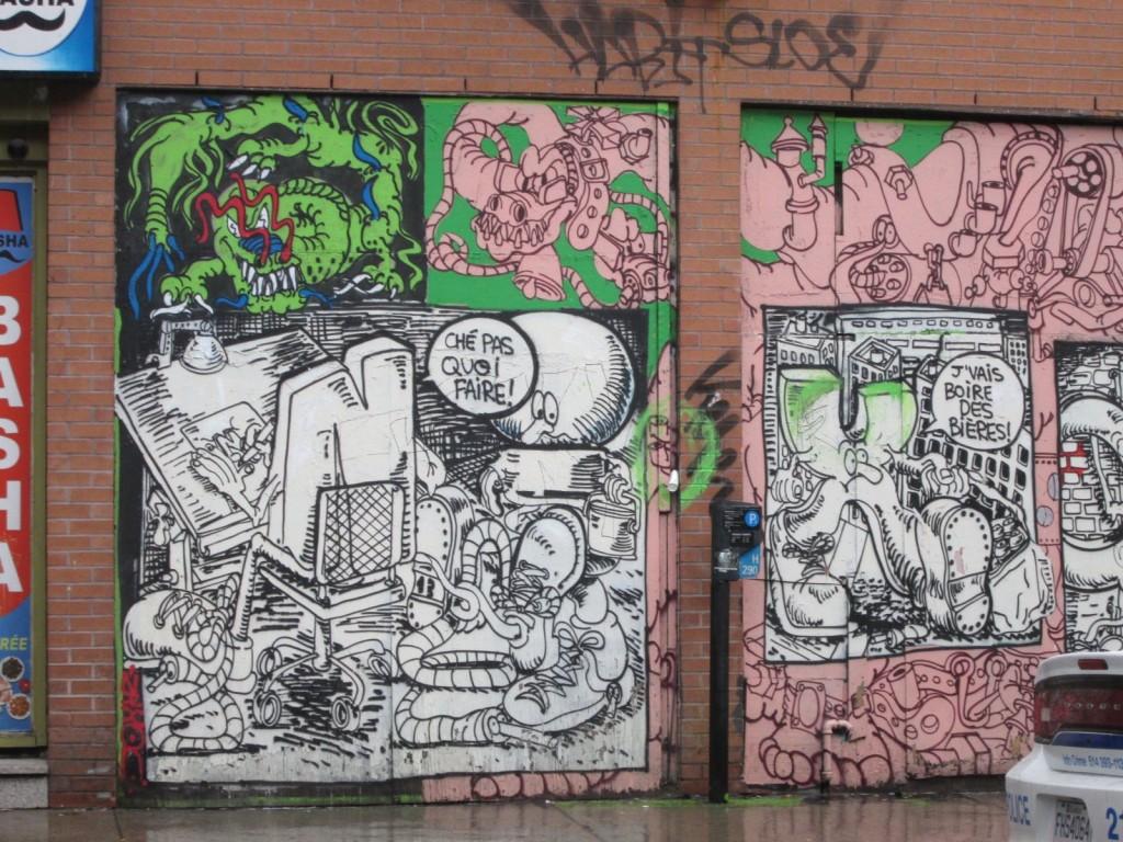 Nixon. Graffiti Montreal. Photo Rachel Levine