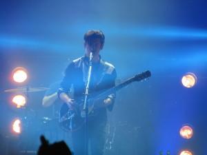 Arctic Monkeys at Osheaga Festival, Montreal. Photo By Robyn Homeniuk.