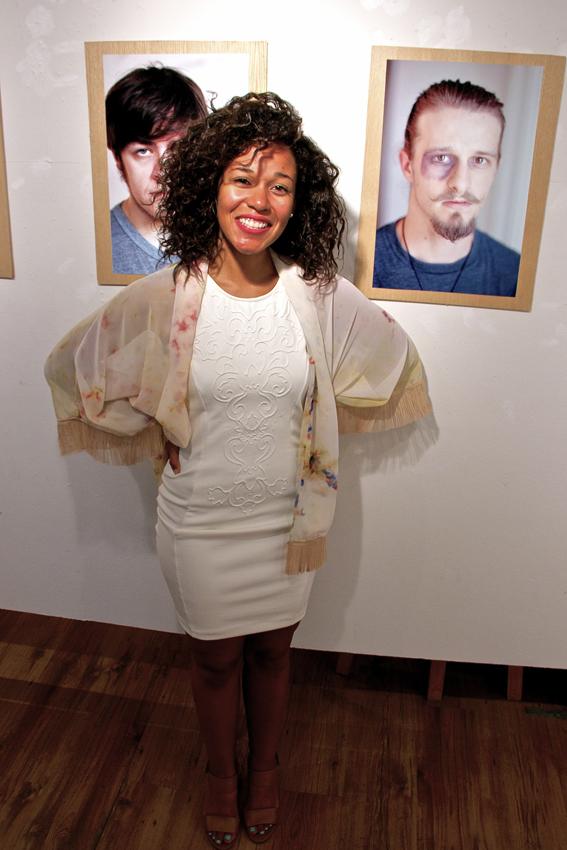 Kim Johnson and Galerie Crystal Racine a jamais exhbit. Photo Michael Bakouch