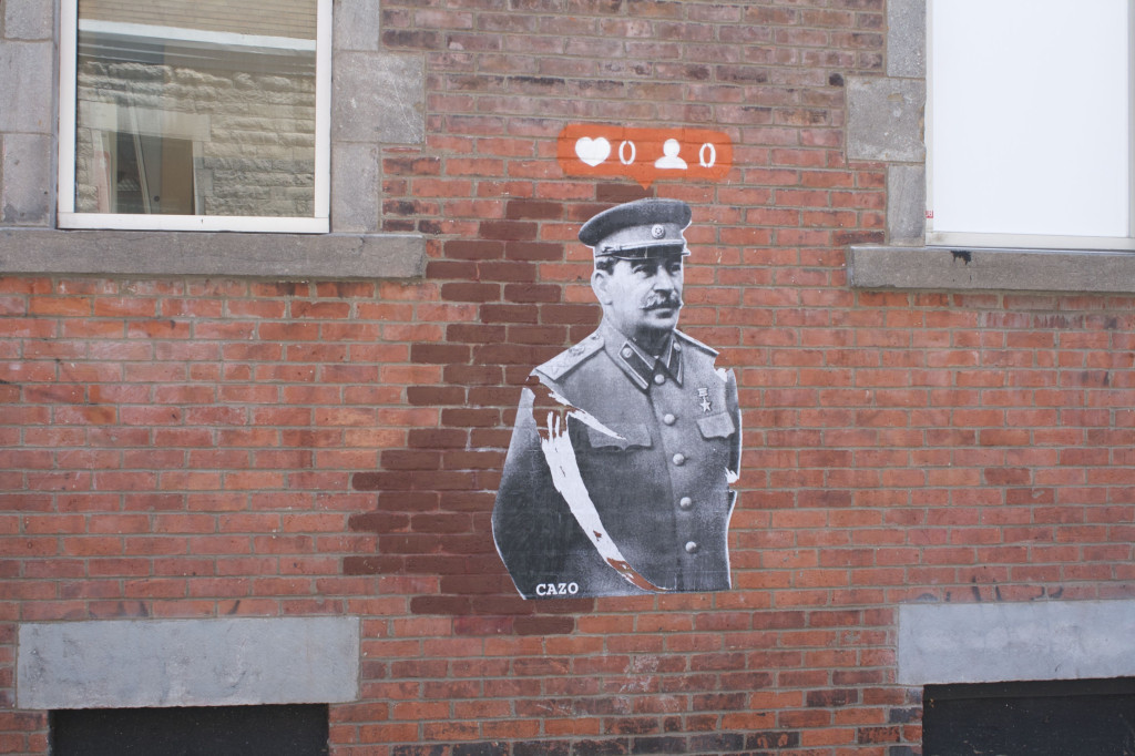 Graffiti. Montreal. Photo Rachel Levine