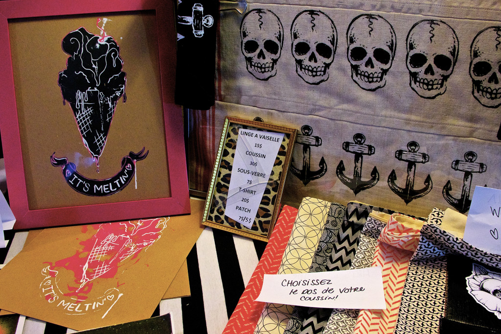 Mascara & Popcorn Festival. Etsy Montreal Vendors. Photo Michael Bakouch.