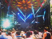Beat Market at Osheaga Festival, Montreal. Photo from Beat Market's Instagram.
