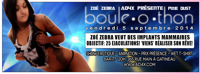 boule o thon with zoe zebra from facebook