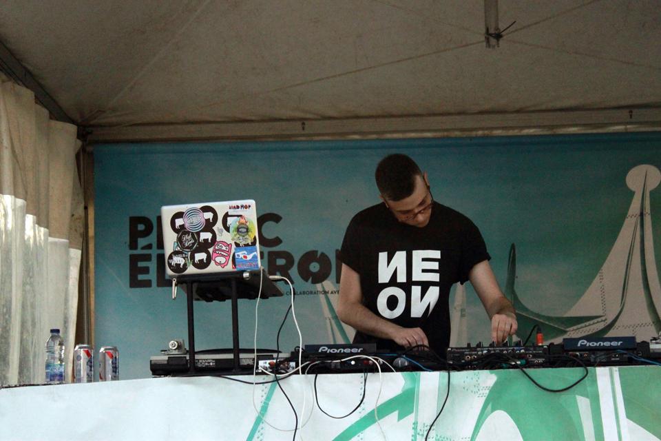 Eloi - Thomas White. Piknic Electronik. Photo Lili Hudecova.