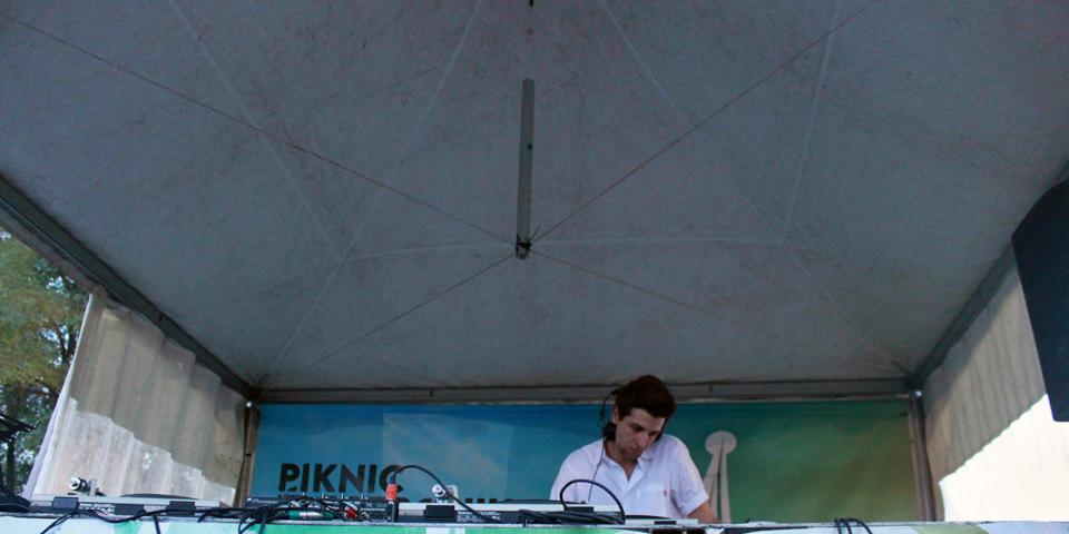 Jamie XX. Piknic Electronik.. Photo Lili Hudecova.