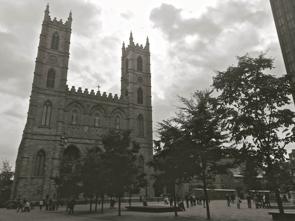 The Notre Dame Basilica. Photo by Annie Shreeve