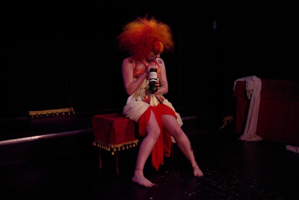Holly Von Sinn- Voix de Ville - The Wiggle Room Photo by David Bensimon