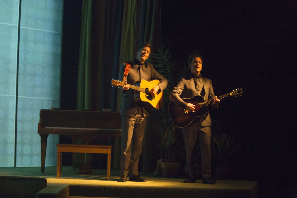 Matthew Barber & Justin Rutledge (Photo by Daniel Plante). The Graduate. The Segal Centre.