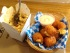 Mac & Cheese and Tater Tots. Photo by Ken Gaucher