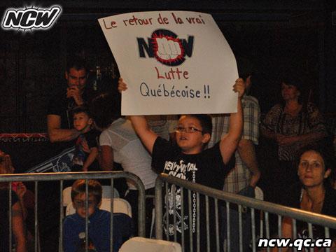 Northern Championship Wrestling. Fans.
