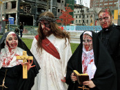 3.Damn Jesus is back. Zombie Walk. Photo Michael Bakouch